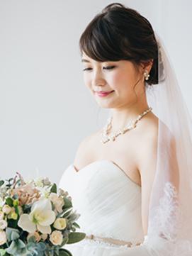 【花嫁ヘア】× 結婚式や結婚パーティの編み込みフルアップ