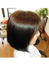 柔らかく自然な質感に仕上げる縮毛矯正♪美髪ストレート+施術後にトリートメントウォーターサービス☆