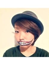 LuciR:口元切り裂きペイントメイク きゃりー.11
