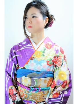2016 SS LiL hair 振袖着付け+ヘアセット