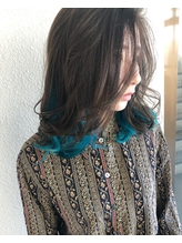 INNER×COLOR turquoise.6