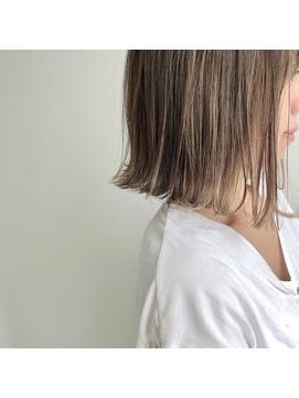 【RAYS/金本】切りっぱなしボブ×シークレットハイライト