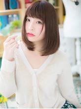 *bliss浦和*大人かわいい♪ボルドーカラー小顔ワンカールa.50