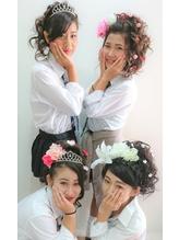 文化祭ヘアセット☆彡 文化祭.12