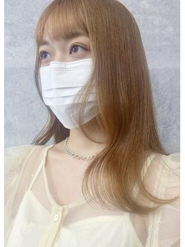 【peonyはまひ】夏のハニーベージュカラー♪福岡/西新