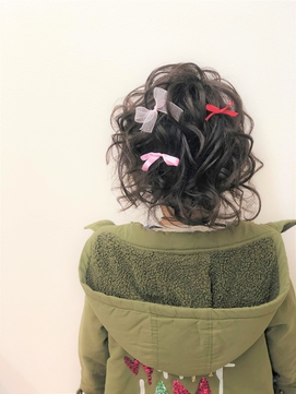 ((ulea))キッズヘアセット☆