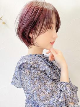 髪質改善イメチェンショート☆インナーカラー
