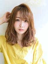 《Uri/二子玉川》くせ毛風×ルーズミディ パーティ.17