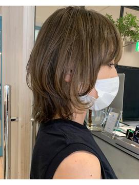 【dipty MOILA】透明感大人マッシュレイヤー【hamaoka】