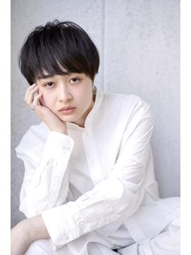 【豊塚】前髪あり大人マッシュショート(平尾)