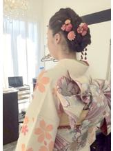 横浜市戸塚★着付けヘアセット、結婚式、成人式、卒業式、七五三.8