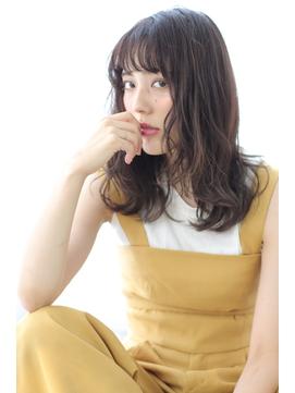 【albero山崎愉美】暗髪×ゆるふわほつれウェーブ