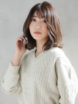[K-two銀座]大人かわいいリラックスウェーブ/髪質改善で美髪に