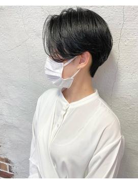【Klutch】黒髪ハンサムショート