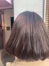 【髪質改善】コラーゲンカラー・ブルーバイオレット.33