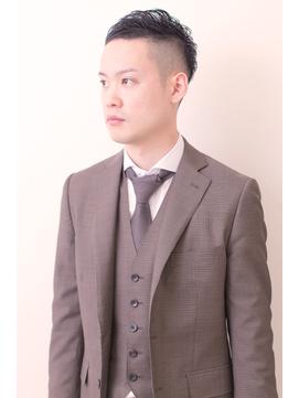 【Natura】 黒髪 フォーマル ショート #ビジネスマン #スーツ