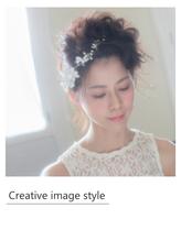 【Creative image styel】ウエディングアレンジ 清楚.58