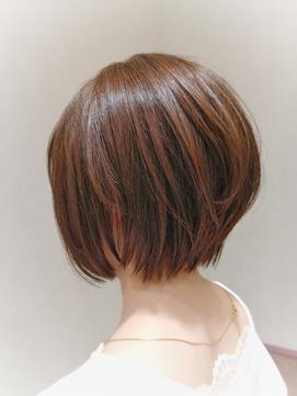 【gokan金沢/ナカシマ】美髪トリートメントでうるつやショート