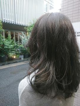 暗髪~ブルージュ×スモーキー~