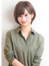『rue京都』ゆるふわナチュラル☆大人可愛いショートボブ 40代.2