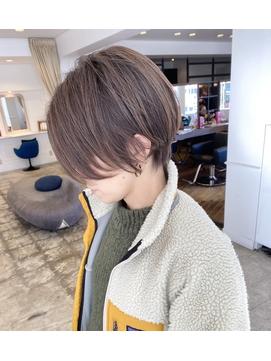【 seventh×大貫】ショートヘアハンサムショート20代30代
