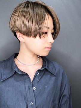 【morio池袋】20代30代40代 かっこいい大人刈り上げ女子ショート