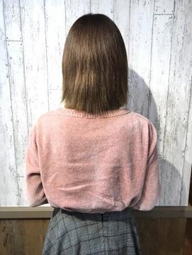 【アンククロス関内山形】シールエクステ100枚Before after