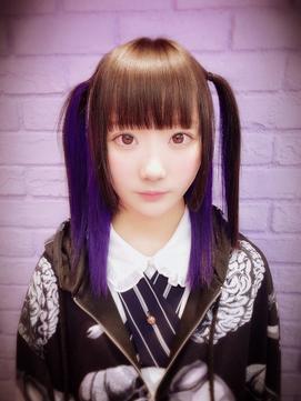 inner violet half twin