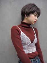 マッシュショート☆グレージュ ニュアンスパーマ ハイライト.12