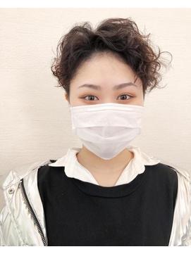 【淡路chlori】クルクルショート×ツーブロック