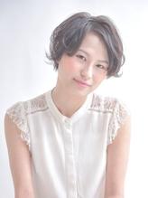 【ROOTby air京都】大人かわいいとろみジェンダーレスショート☆ .15