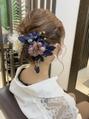 【横須賀中央 AGU】成人式 卒業式 袴振袖のヘアセット