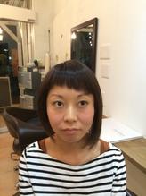 【ナチュラリーモードスタイル】☆艶やかアシメボブ☆ シャギー.48