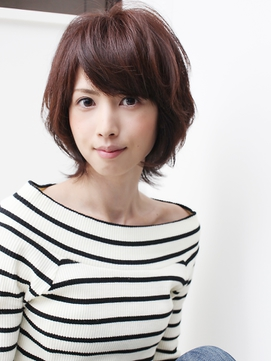 ★air-GINZA★中村有佑★ラフな大人かっこいいショートボブ★