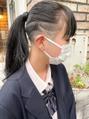 【roijir 山岸】スキンフェード女子 刈り上げ女子