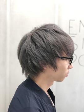 【EMIRAI/門元】 シルバーグレー×ブリーオンカラー