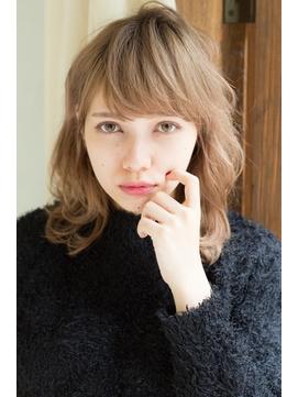 【changer 笹塚】伸ばしかけ くせ毛風 カール ふわミディ