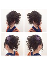 2017年☆秋祭りヘアセット 盛り髪.31