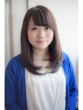 【ReiZ渋谷】ノームコア×うぶバング=女子アナ風♪ 女子アナ.54
