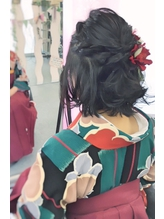 【卒業式】袴着付け+ヘアセットご予約受付中です★.12