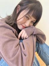 パッツンオン眉×ミルクティーグレージュ.29