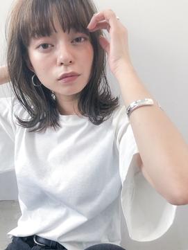 小顔前髪×イヤリングカラー ×イメチェン ×池袋