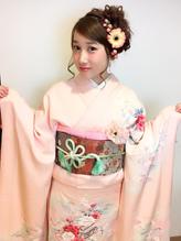 全国一位経験アリ☆振袖 袴 成人式 卒業式 ヘアアレンジ 卒業式.28