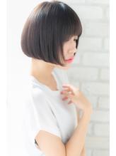 【canon】触りたくなる髪へ☆小顔ミニボブ.25