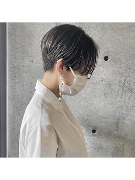 【coyoi】黒髪ショート×センターパート <hirao>