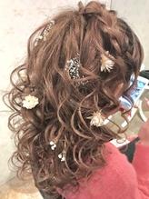 巻き髪編み込みカチューシャ【アチーブ#有村美里】 カチューシャ.55