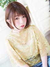 【ジュレベール 松田】 ナチュラル可愛い清純耳かけボブ 清純.32