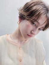 H原宿*『小顔に見せるヘア 』ワンサイドショート【tatsuya】.45