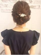 ゆるめヘアセット~結婚式、2次会 浴衣.7