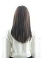 【miel hair新宿】品よく清楚なモテナチュラルストレート